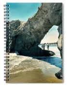 Santa Cruz Beach Arch Spiral Notebook