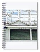 Santa Cruz, California  Spiral Notebook
