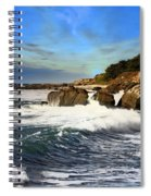 Santa Cruz Coastline Spiral Notebook