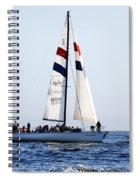 Santa Cruz Sailing Spiral Notebook