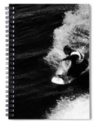 Santa Cruz Surfer Dude Spiral Notebook