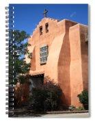 Santa Fe - Adobe Church Spiral Notebook