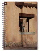Santa Fe Adobe Window Spiral Notebook