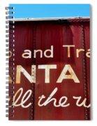 Santa Fe All The Way Spiral Notebook
