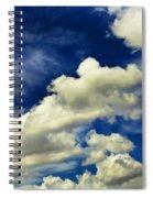 Santa Fe Clouds Spiral Notebook