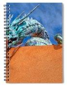 Santa Fe Dragon Spiral Notebook