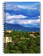 Santa Fe New Mexico Spiral Notebook