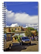 Santa Fe Plaza 2 Spiral Notebook