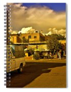 Santa Fe Plaza Spiral Notebook
