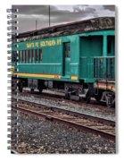 Santa Fe Rail Yard Spiral Notebook