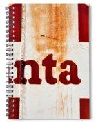 Santa Fe Railway Spiral Notebook