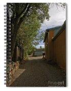 Santa Fe Road Spiral Notebook