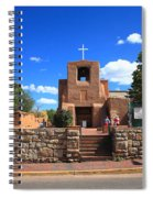 Santa Fe - San Miguel Chapel 6 Spiral Notebook