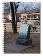 Santa Fe Trail Marker Spiral Notebook