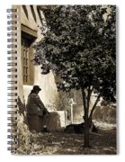Santa Fe Woman  Spiral Notebook