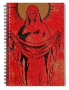 Santa Mae Spiral Notebook