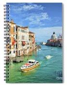 Santa Maria Spiral Notebook