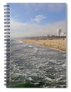 Santa Monica Beach Spiral Notebook