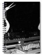 Santa Monica Birds Eye View Spiral Notebook