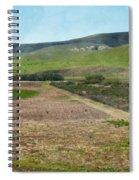 Santa Ynez Mountains Green Hills Ranch Spiral Notebook
