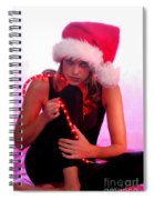 Santas Helper Spiral Notebook