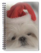 Santa's Sweetie Spiral Notebook