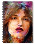 Santia Beauty Face 1062 Spiral Notebook