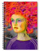 Santia In Adidas Bluse 981 Spiral Notebook