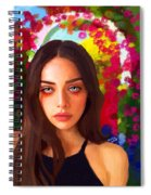 Santia Is Crying 659 Spiral Notebook