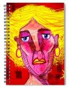 Santia Sour Face 1060 Spiral Notebook