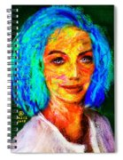 Santia True Colors 673 Spiral Notebook