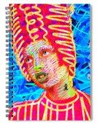 Santia True Story 980 Spiral Notebook
