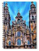 Santiago De Compostela Cathedral Spiral Notebook