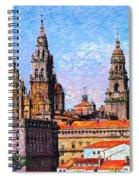 Santiago De Compostela, Cathedral, Spain Spiral Notebook