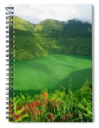 Santiago Lake Spiral Notebook