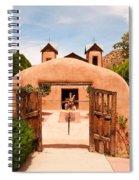 Santo Nino De Atocha Chimayo New Mexico Spiral Notebook