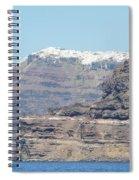 Santorini Fira Spiral Notebook