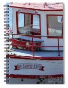 Saoirse Boat Donegal Spiral Notebook