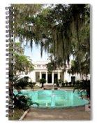 Sapelo Mansion  Spiral Notebook