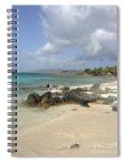 Sapphire Beach St. Thomas Spiral Notebook
