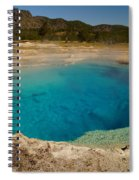 Sapphire Pool Spiral Notebook