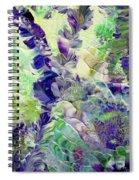 Sapphire Violet Spiral Notebook
