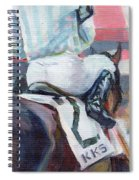 Saratoga Stripes Spiral Notebook