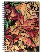 Sargam Abstract A1 Spiral Notebook