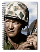 Sargent Stryker U S M C  Iwo Jima Spiral Notebook