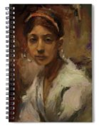 Sargent Study Number 1 Capri Girl Spiral Notebook