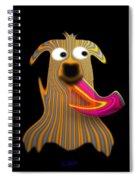 Sartorial Pooch Spiral Notebook