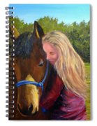 Sasha And Chelsea Spiral Notebook