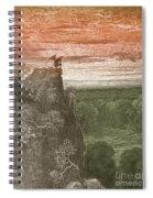 Satan, By Dore Spiral Notebook