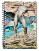 Satan Smiting Job With Sore Boils Spiral Notebook